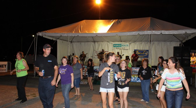 Chauvin Fest 2013 Saturday Night Dance
